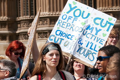 110709 Pro Choice 152 Pro-choice Protest organised by Swansea Feminist Network.Old Palace Yard, Westminster, 9 Jul 2011.
