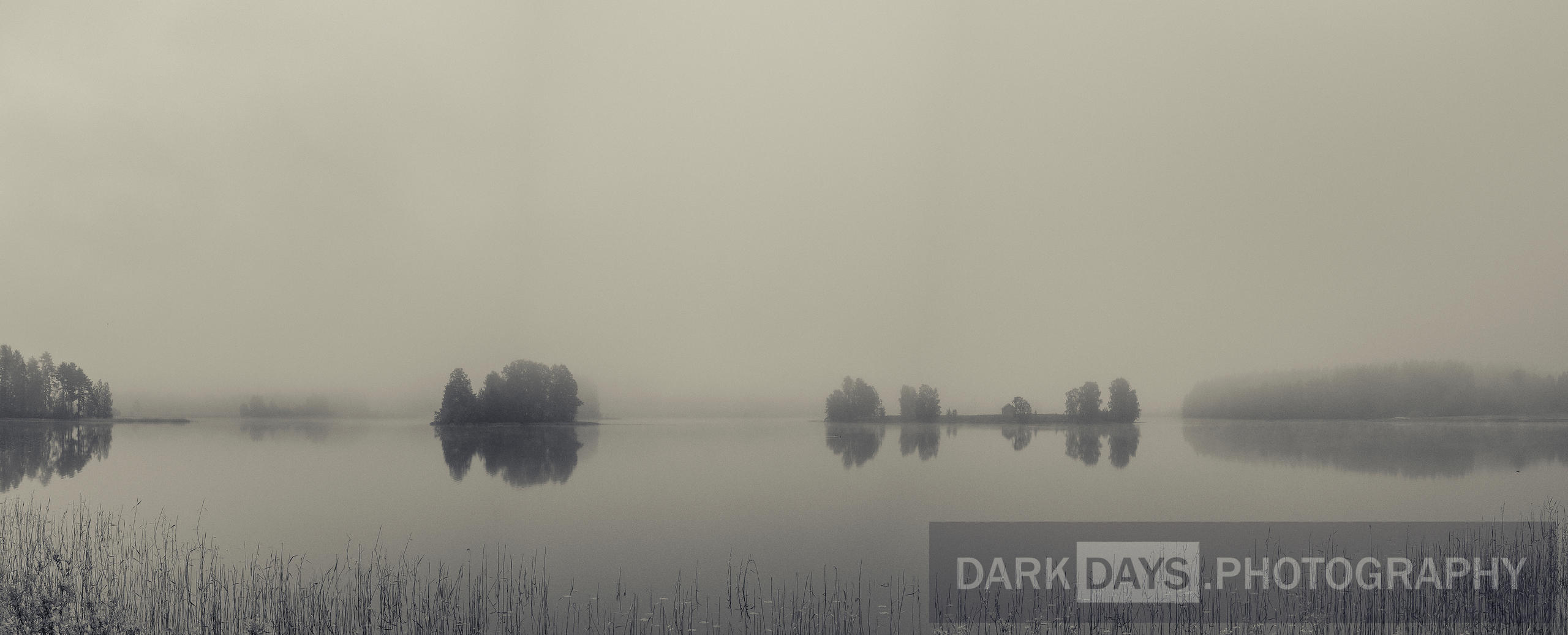 Finland - Jämsä (Misty Morning on Päijänne Lake)