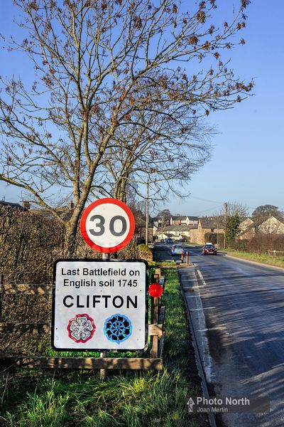 CLIFTON 01A - 'Last Battlefield on English Soil'
