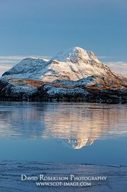 Image - Cul Beag and Loch Sionascaig, Inverpolly, Scotland