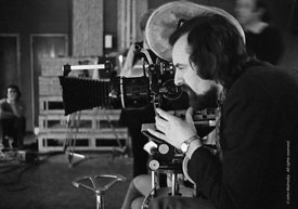#74801,  Phil Méheux, BBC cameraman, shooting the Anna Scher Children's Theatre, North London 1972.  Phil went on to become a...