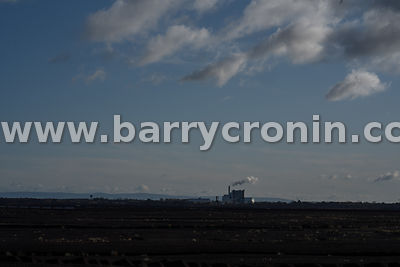 Thursday 14th November 2019. Shannonbridge, County Offaly. The ESB Shannonbridge peat burning plant. ESB management will clos...