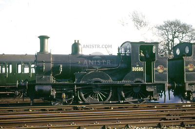EX-LSWR 0298 CLASS 2-4-0T STEAM LOCOS
