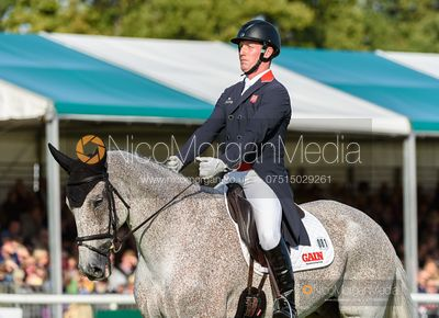 Oliver Townend and BALLAGHMOR CLASS - Dressage - Land Rover Burghley Horse Trials 2019
