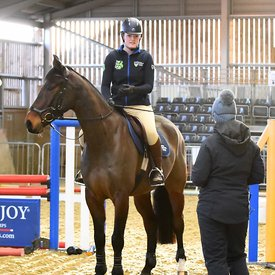 29/01/2020 - Ros Canter clinic - Writtle college - UK