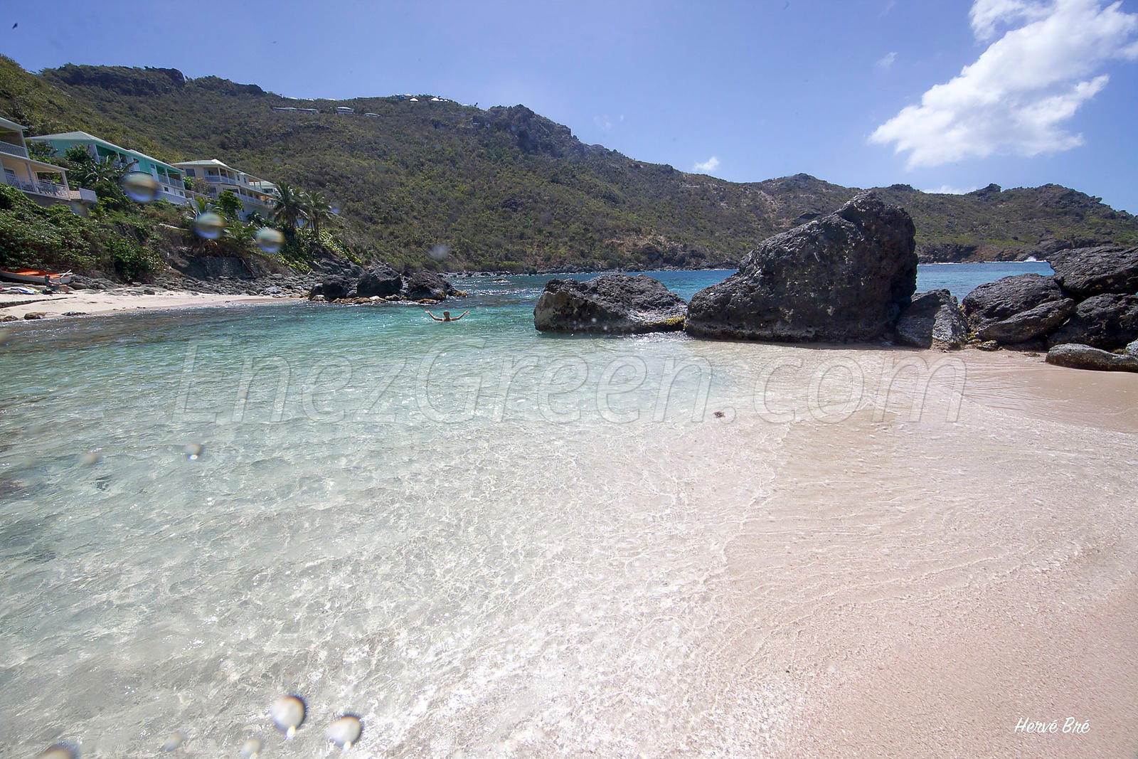 Saint-Barthélemy secret beach
