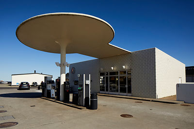 Arne Jacobsen designed Skovshoved Petrol Station