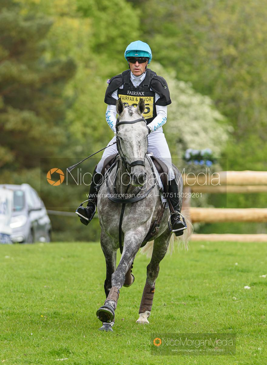 Andrew Hoy and BRIGANT, Fairfax & Favor Rockingham Horse Trials 2019.