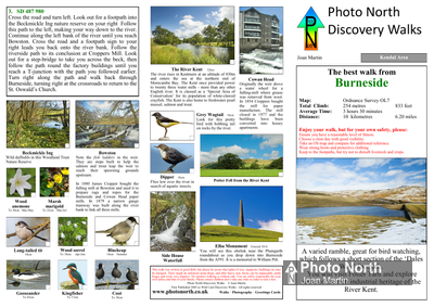 Burneside walk - Two page PDF file