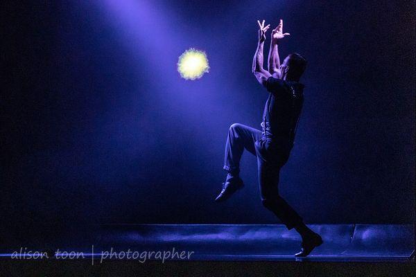 Reiss Thomson, dancer, Cromer Pier Show