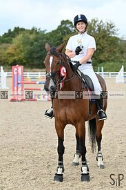 Unaffiliated showjumping. Stapleford Abbotts. United Kingdom ~ MANDATORY Credit Garry Bowden/Sport in Pictures - NO UNAUTHORI...