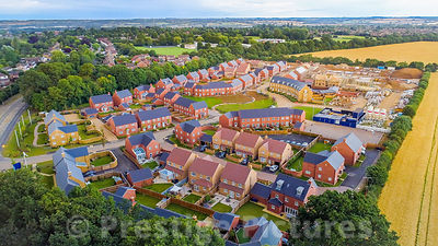 Morris Homes, Victoria Park site in Banbury, Oxfordshire