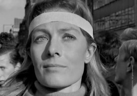 #70413,  Vanessa Redgrave leading the anti-Vietnam war demonstration march from Trafalgar Sq to Grosvenor Sq Sunday 17th Marc...