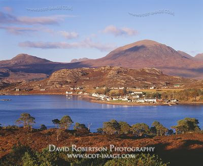 Image - Shieldaig village, Wester Ross, Scotland