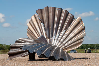 'Scallop', sculpture by Maggi Hambling