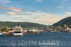 Bergen Harbour Norway.