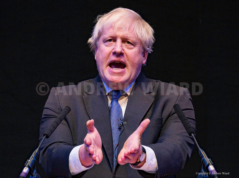 England, UK .2.10.2018. Birmingham. Boris Johnson at Conservative Party Conference..