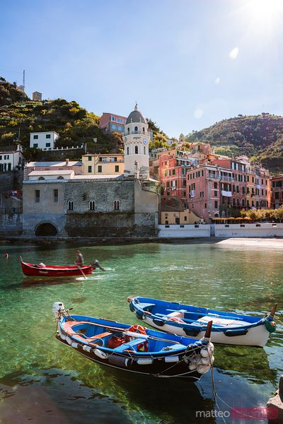Fishing village, Cinque Terre, Liguria, Italy