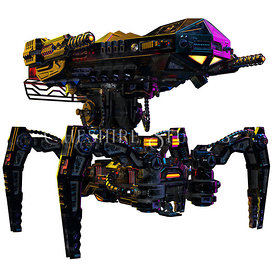 Spider or Crab Mech