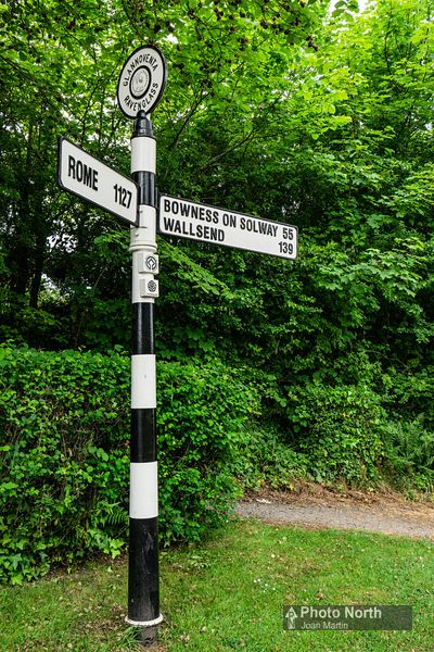 RAVENGLASS 10A - Glannoventa Roman Heritage Signpost