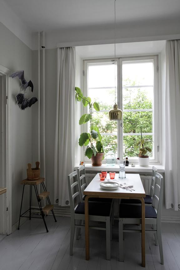 Home of Finnish designer Hanna Anonen in Helsinki.