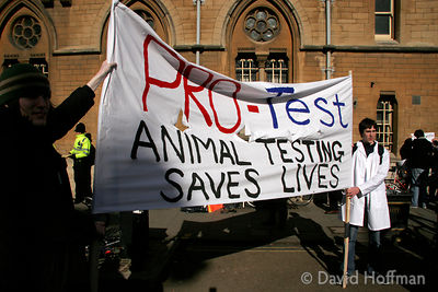 Pro vivisection demo, Oxford