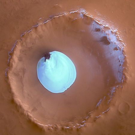 GA_-_Colour_view_of_crater_with_water_ice