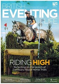 Tim Rogers and Newton Belize for British Eventing Life