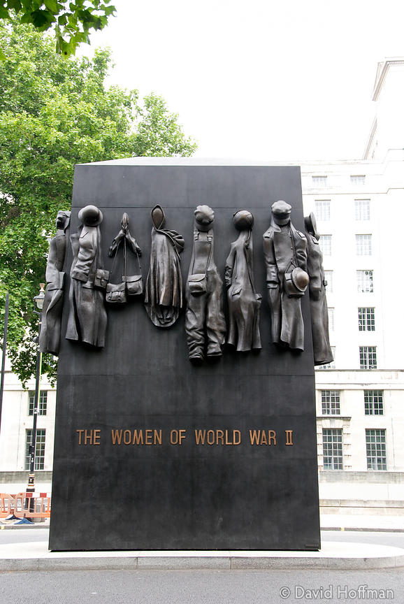 070609_South_Bank_078 Unveiled by the Queen in July 2005 the £1m memorial in Whitehall commemorates the role of women during ...