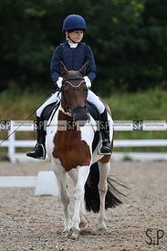 Unaffiliated dressage. Brook Farm training centre. Stapleford Abbotts. United Kingdom ~ MANDATORY Credit Garry Bowden/SIP pho...