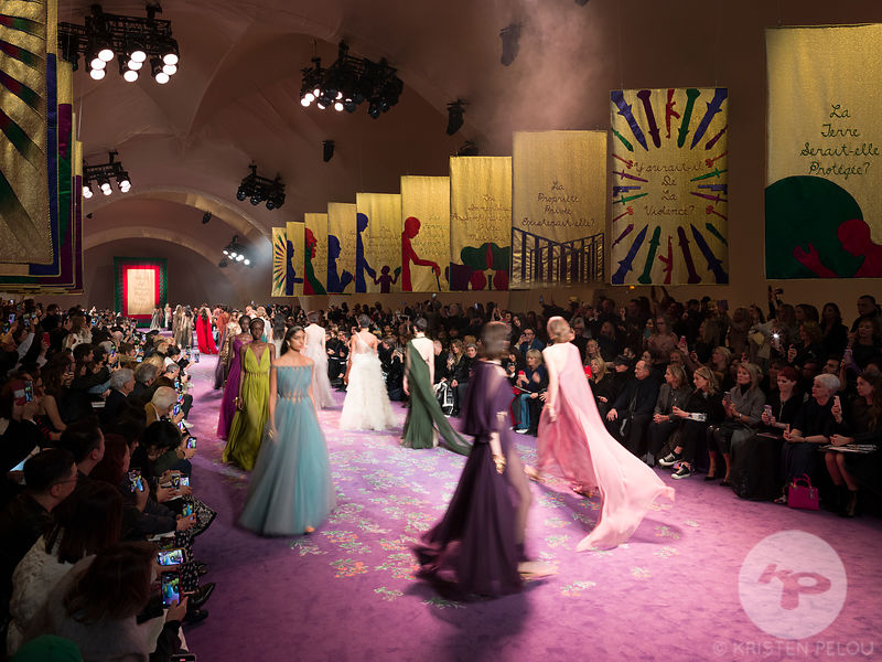 "Architecture photographer - Dior Haute Couture show during Paris Fashion Week Spring Summer  2020 Art installation ""The Femal..."