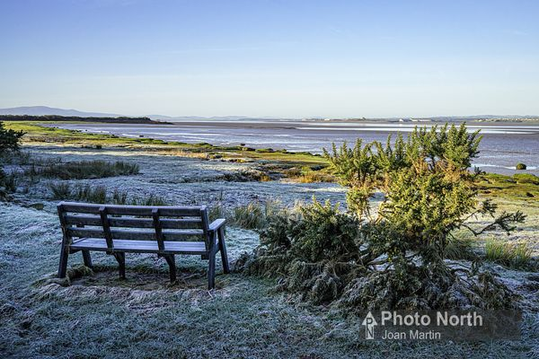 BOWNESS ON SOLWAY 11A - Frosty morning on the banks of the Solway