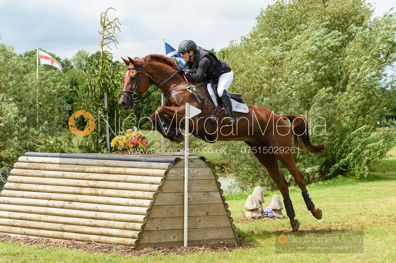 Sammi Birch and FINDUSS PFB - Aston Le Walls Horse Trials 2019.