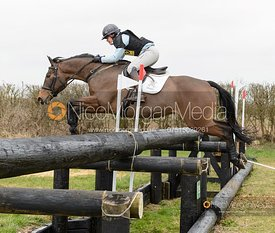Polly JACKSON GRIFFIN and MONARTS MATISSE. Oasby (1) Horse Trials 2020