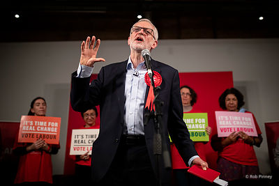 Final Labour Party Rally Before Election