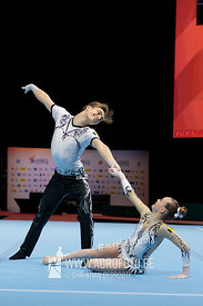 AG 13-19 Mixed Pair Belgium - Balance
