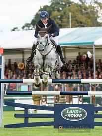 Will Furlong and COLLIEN P 2 - Show jumping and prizes - Land Rover Burghley Horse Trials 2019