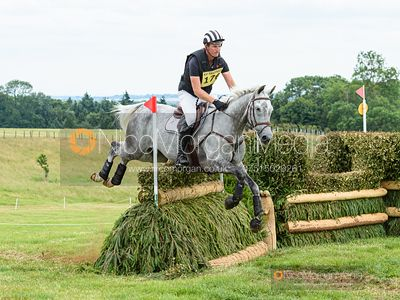Jesse Campbell and AMSTERDAM II - Upton House Horse Trials 2019.