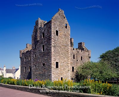 Image - Kirkcudbright Castle, Dumfries and Galloway, Scotland