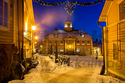 Old Porvoo in January