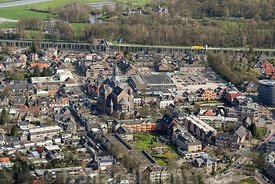 Luchtfoto Vught centrum