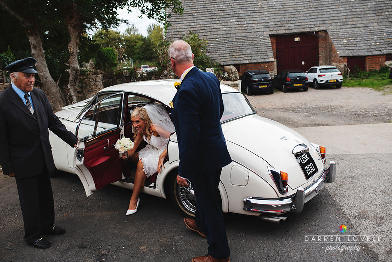 Shell Bay & Studland Wedding for Lisa & Martin