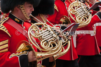 Horn Players from the Grenadier Guards Band