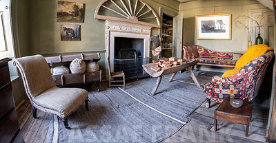 Interior of an old house in Tetbury, Cotswolds
