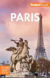 Cover Fodors Travel guidebook Paris 2020