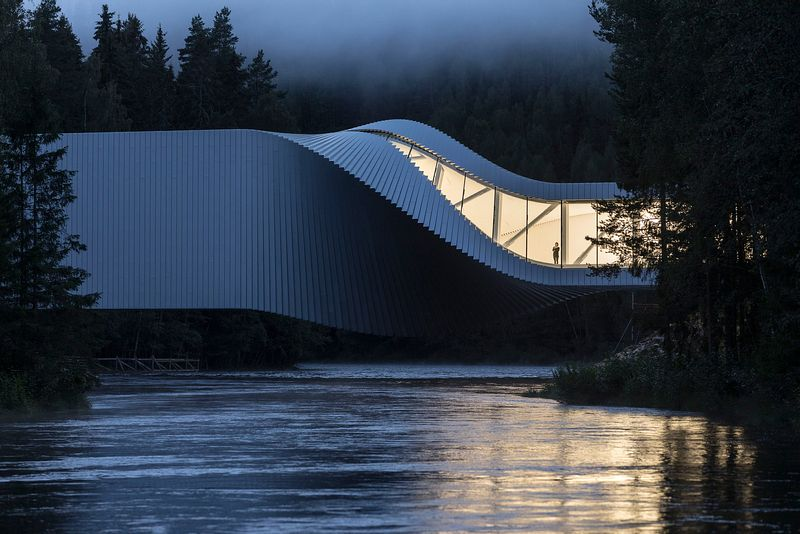 APA 2019 Overall winner:  The Twist Museum, Kistefos Sculpture Park, Jevnaker, Norway ©Laurian Ghinitoiu