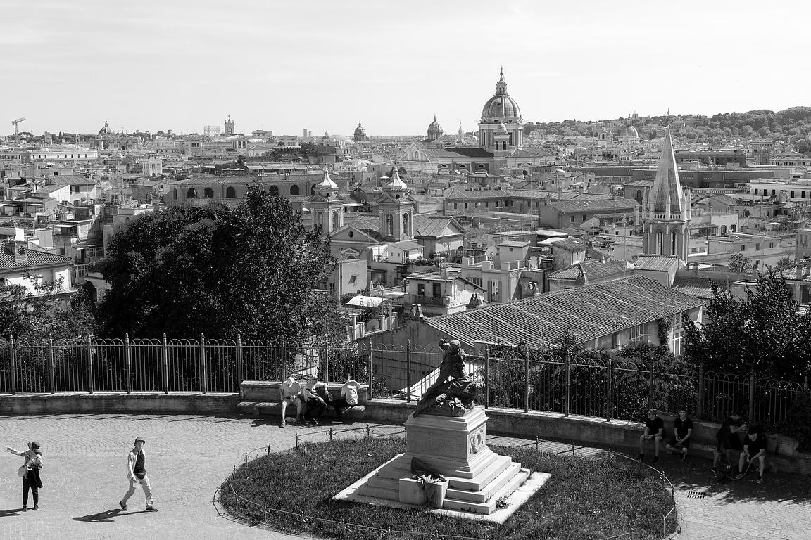 View over Rome from the Pincio
