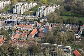 Luchtfoto Van Loon Galleries Vught