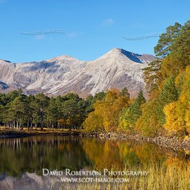 Image - Beinn Eighe and Loch Coulin, Torridon, Wester Ross, Highland, Scotland