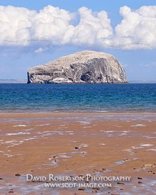 Image - The Bass Rock from Seacliff beach, near North Berwick, East Lothian, Scotland